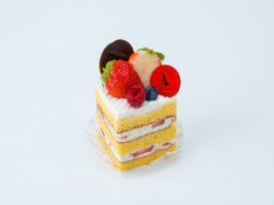 米粉のショートケーキ